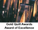 International Association of Business Communicators: Gold Quill Awards, Award of Excellence