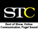 Society for Technical Communication: Online Communication, Puget Sound Chapter level, Best of Show and Distinguished Award